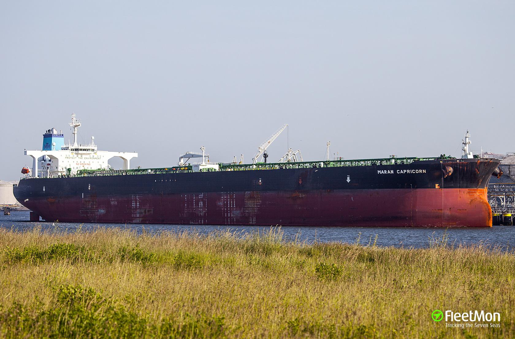 MARAN CAPRICORN (Oil tanker) IMO 9389019