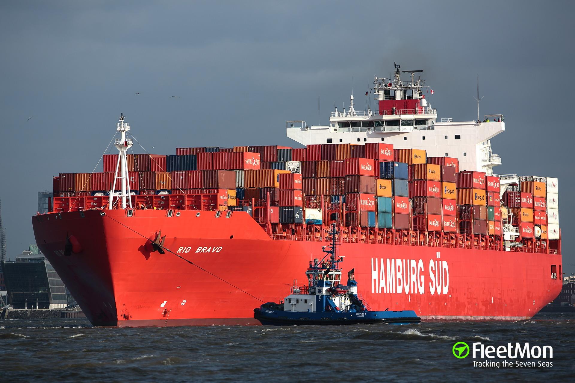 Rio Bravo Container Ship Imo 9348091