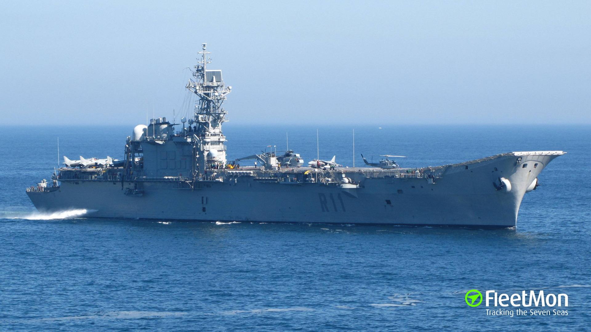SPS PRINCIPE DE ASTURIAS (Aircraft carrier) IMOSpanish Aircraft Carrier Principe De Asturias