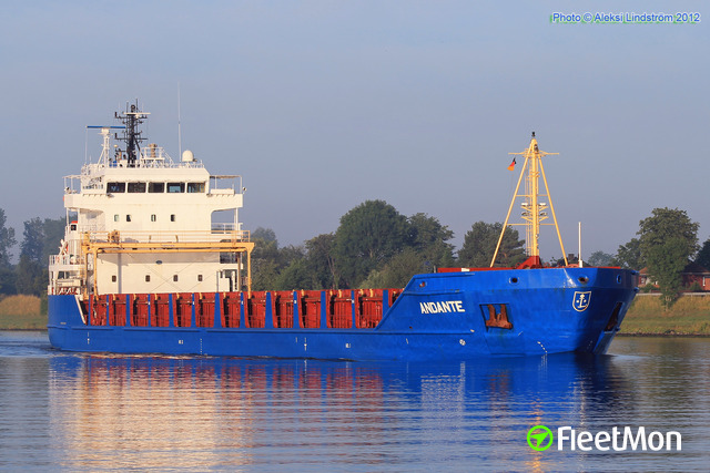 Photo of the vessel ANDANTE from FleetMon.com