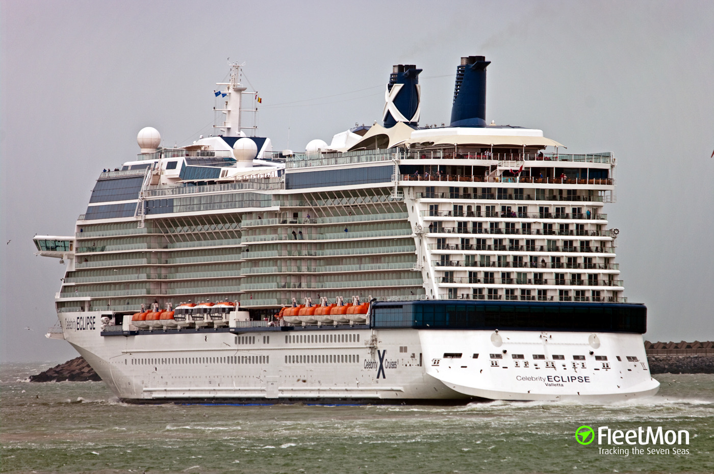 photo of celebrity eclipse imo 9404314 mmsi 249666000