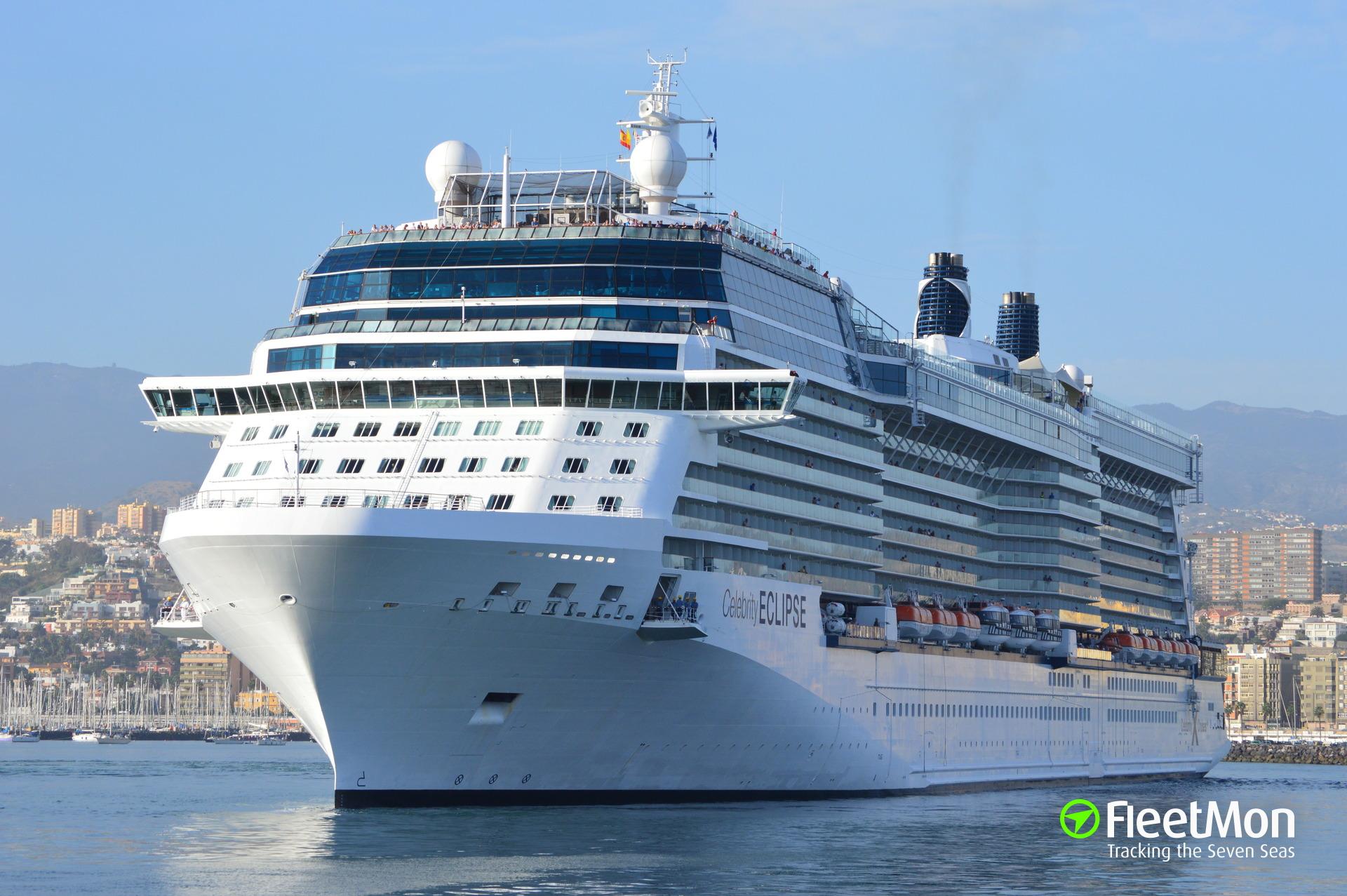 Celebrity ship tracker vessel