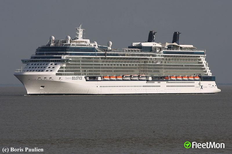 CELEBRITY SOLSTICE (IMO 9362530, Passenger (Cruise) Ship ...