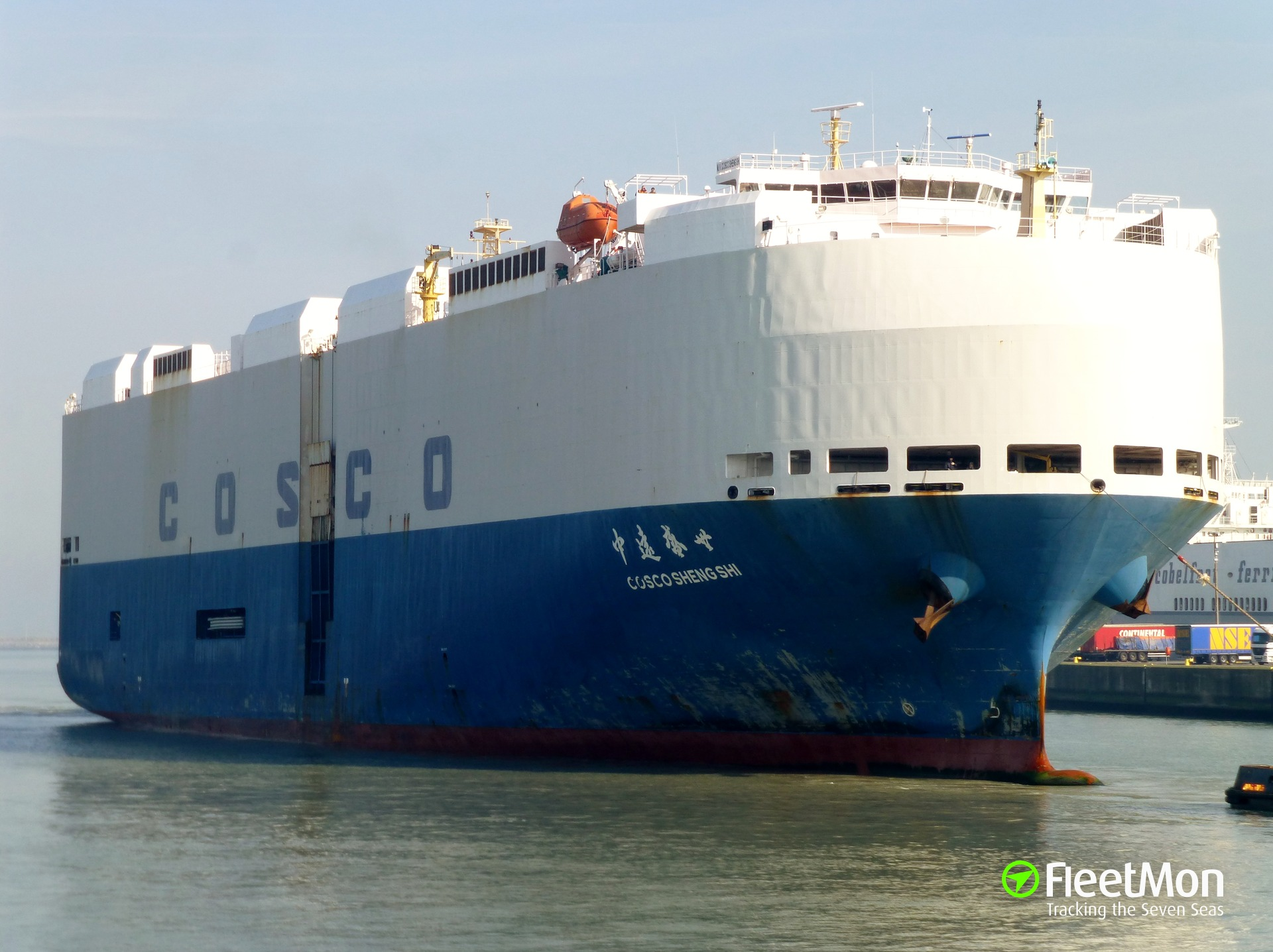 Cosco+Container+Tracking FleetMon Ship tracking: AIS live positions ...