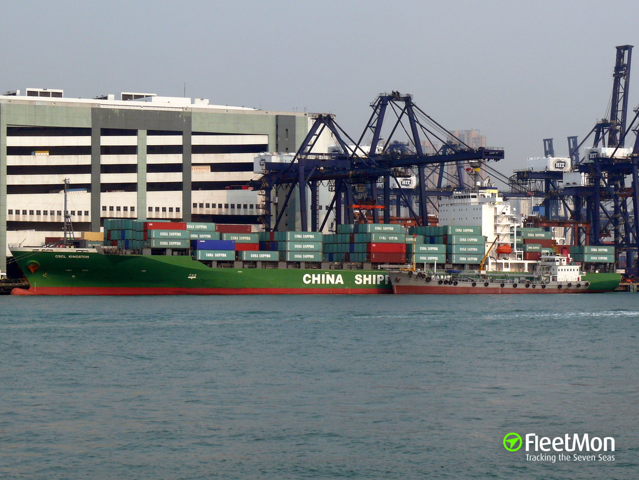Vessel CSCL KINGSTON
