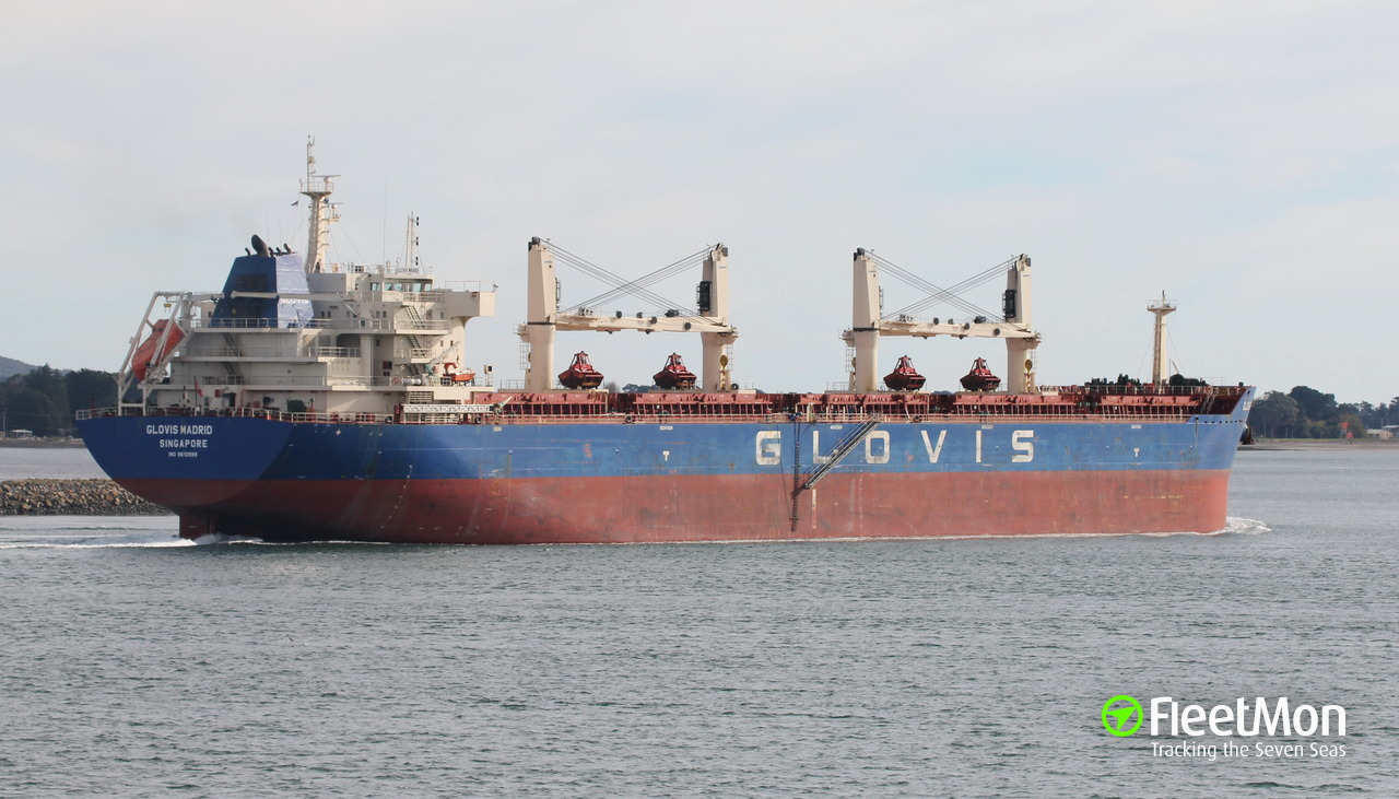 Vessel GLOVIS MADRID