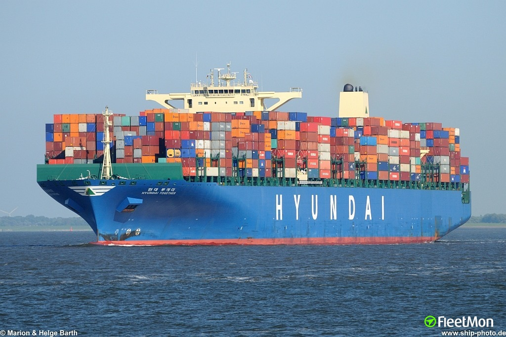 Hyundai Together Container Ship Ship Particulars And