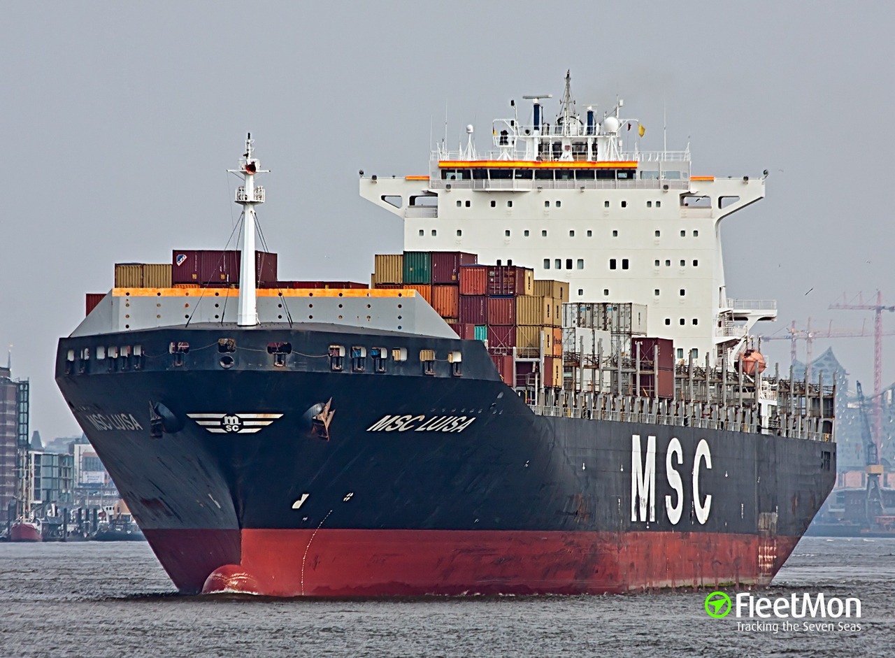 Vessel MSC LUISA
