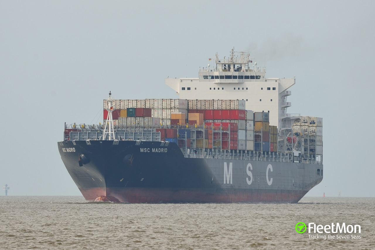 Vessel MSC MADRID