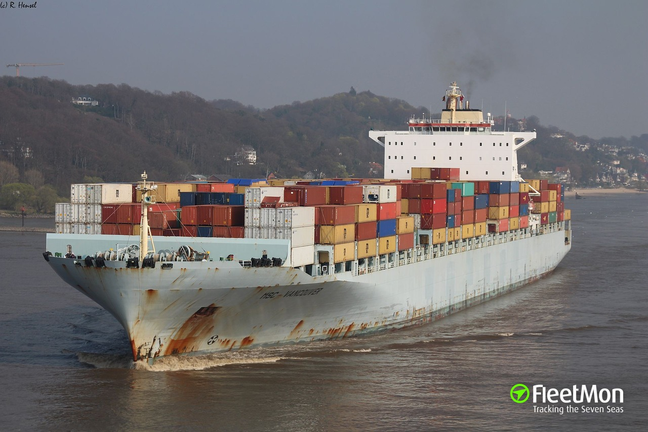 Bulk carrier Capetan Giorgis and boxship MSC Vancouver attacked by pirates in Malacca Strait