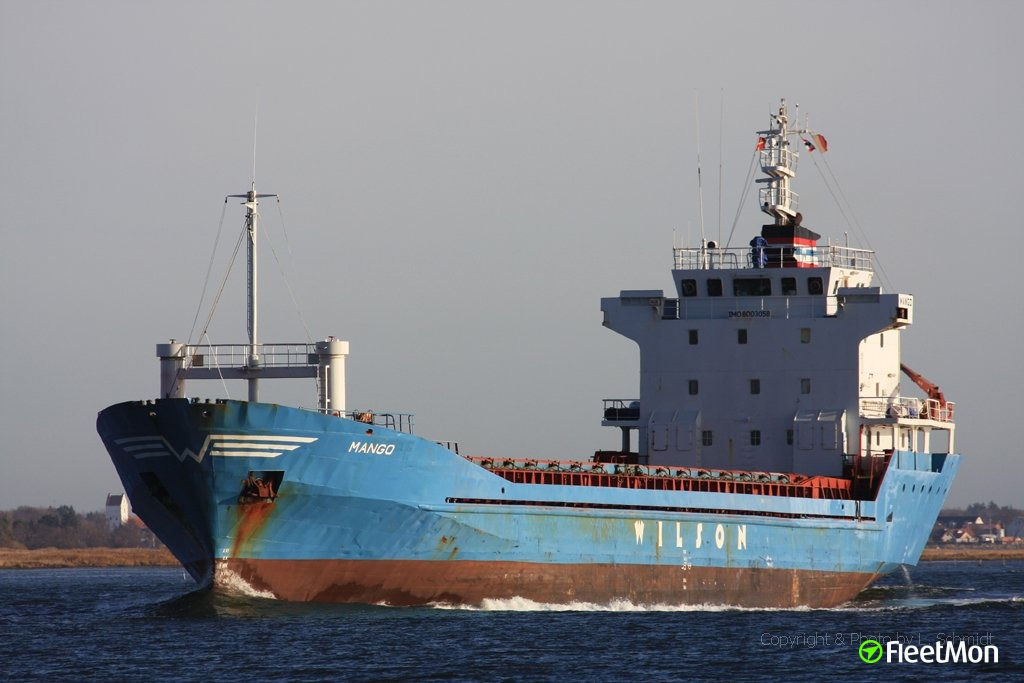 Vessel MV ITIDAL