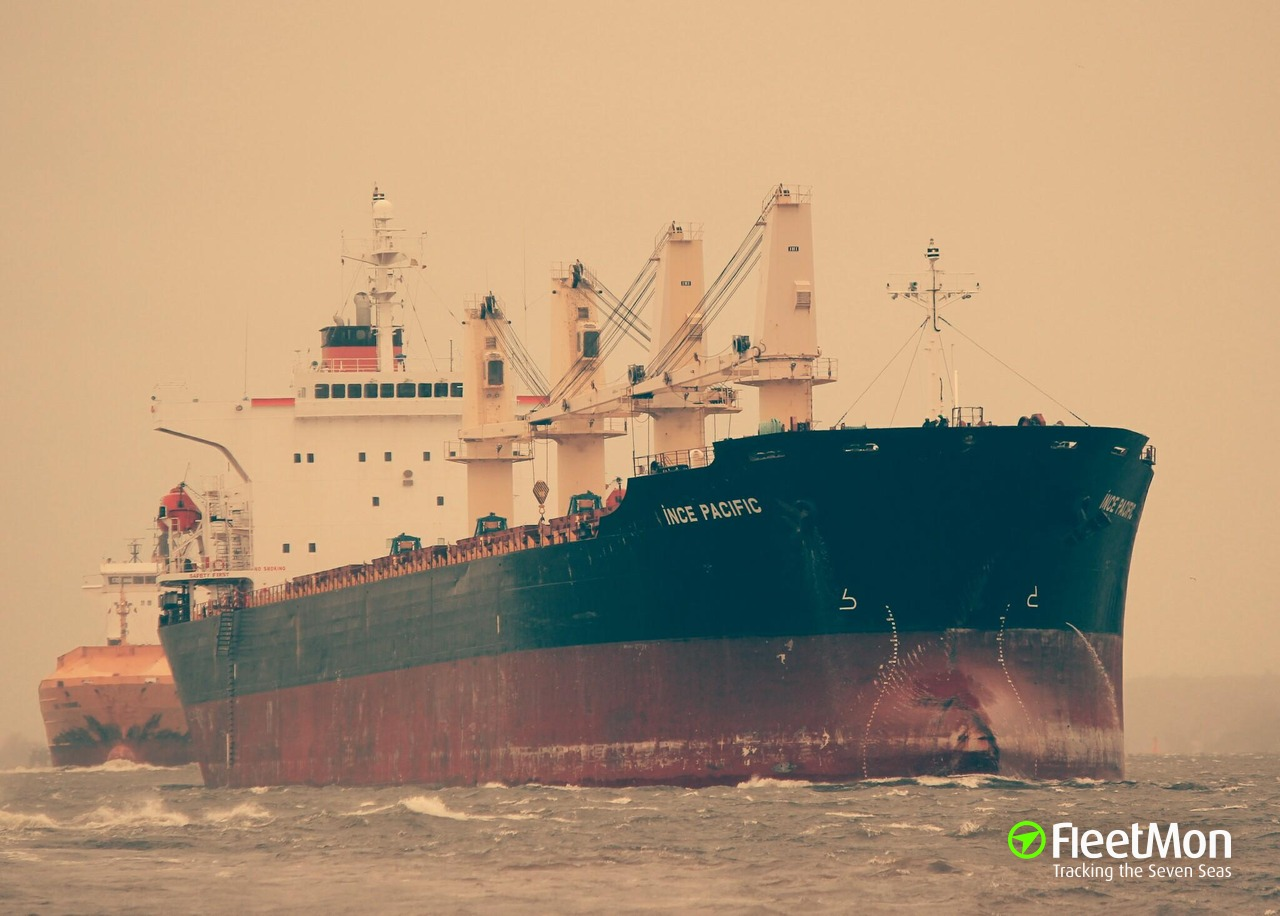 Vessel M V INCE PACIFIC