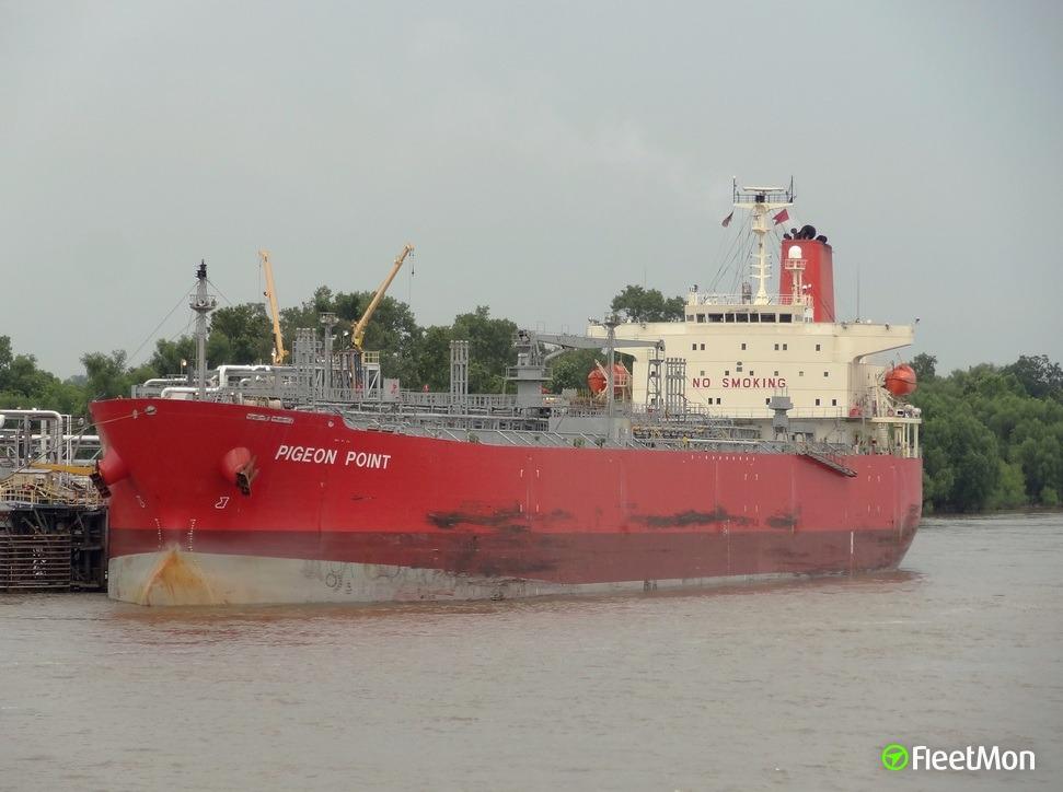 Pigeon point vessel