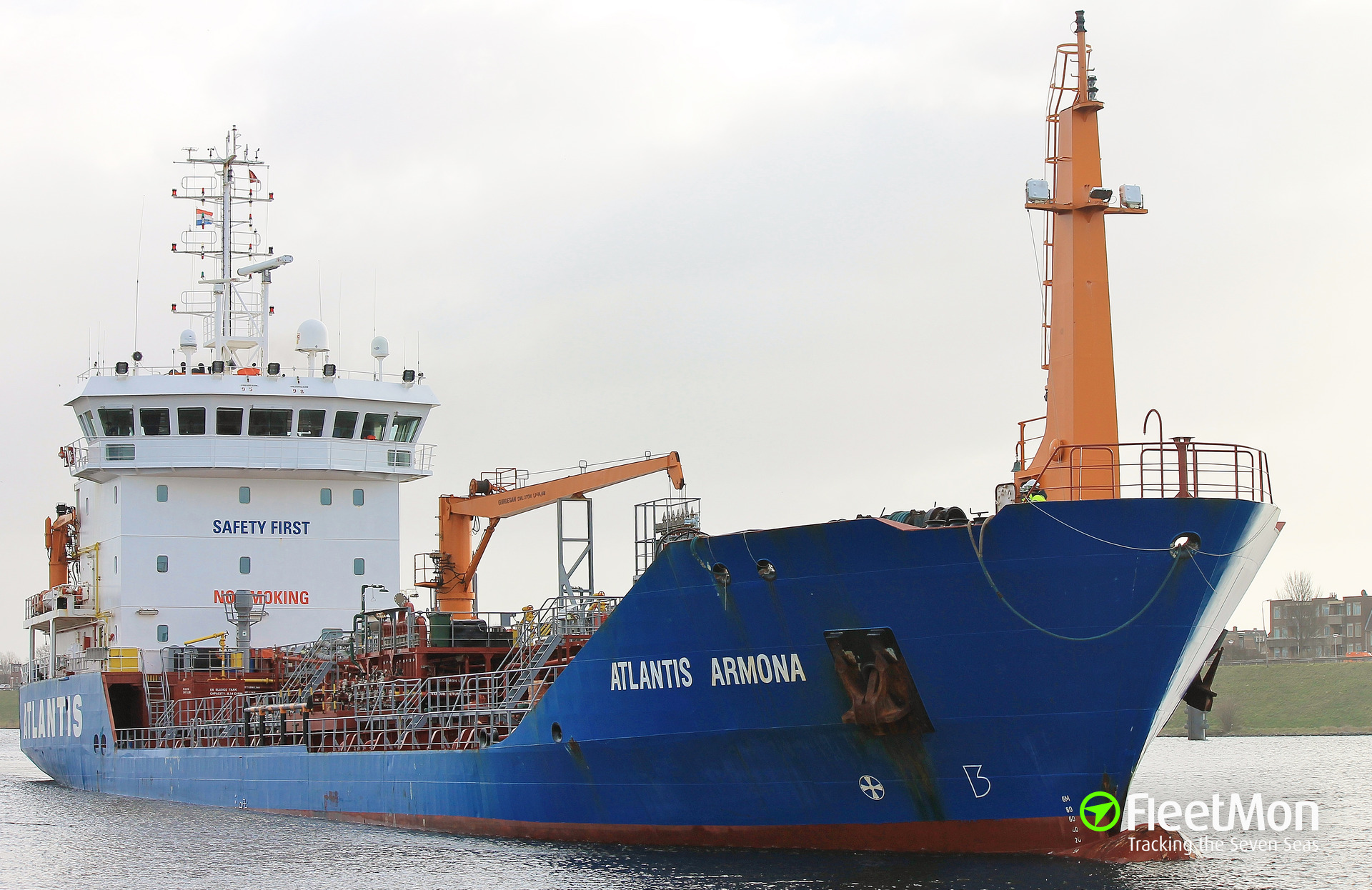 Product tanker ATLANTIS ARMONA troubled, towed to Le Havre