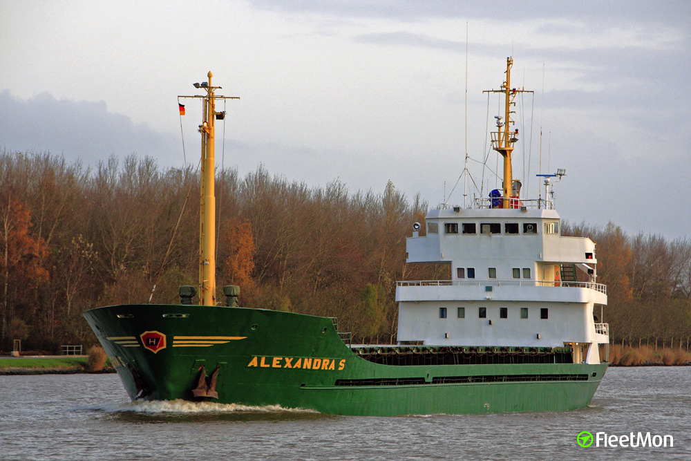 "Libyan Navy arrested freighter Alexandra for ""illegal"" entering"