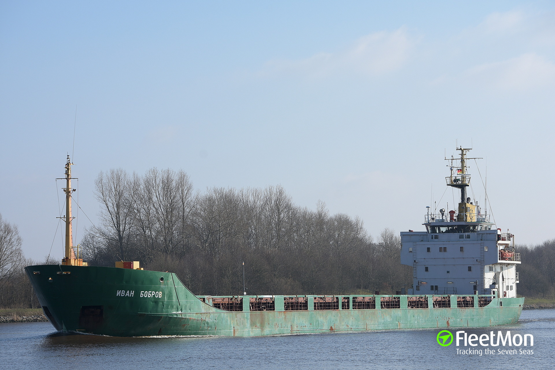 Russian freighter with drunk crew arrested in Oresund