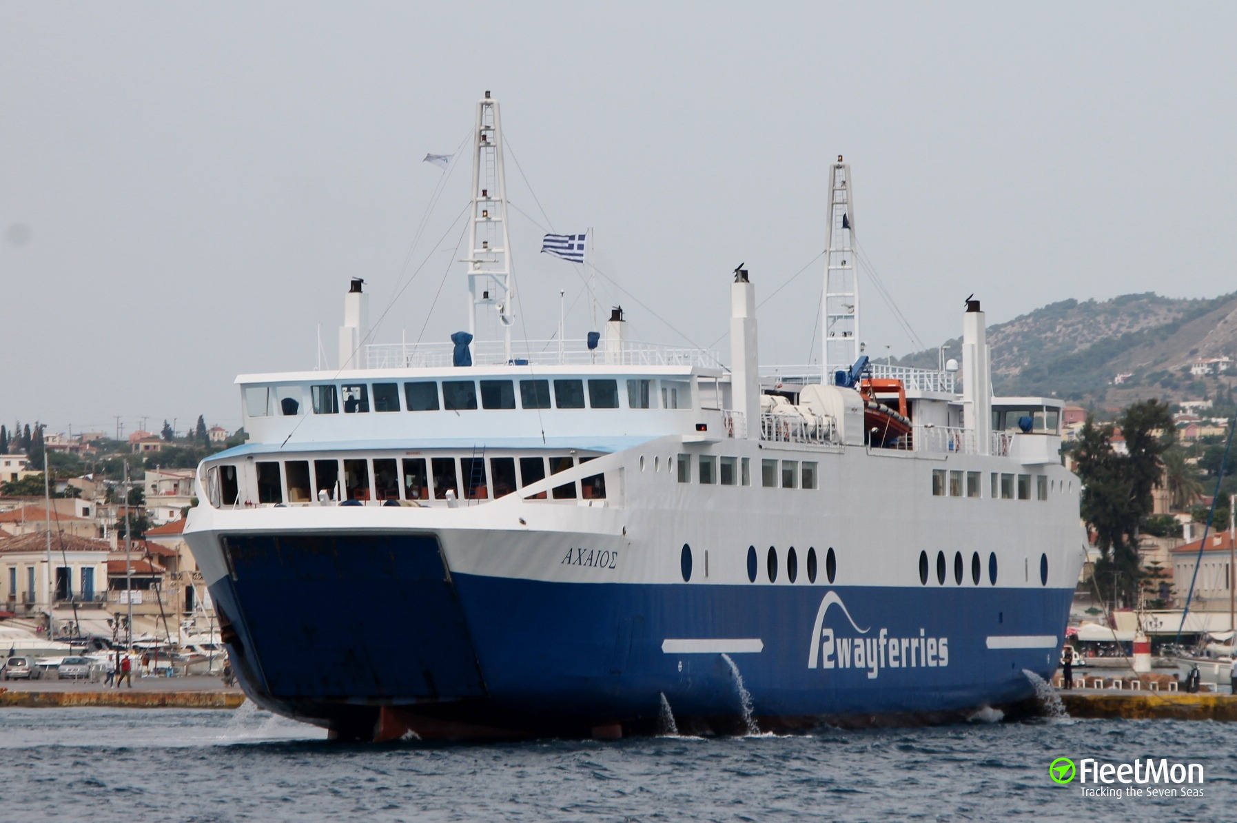 Ferry ACHAEOS troubled, Greece