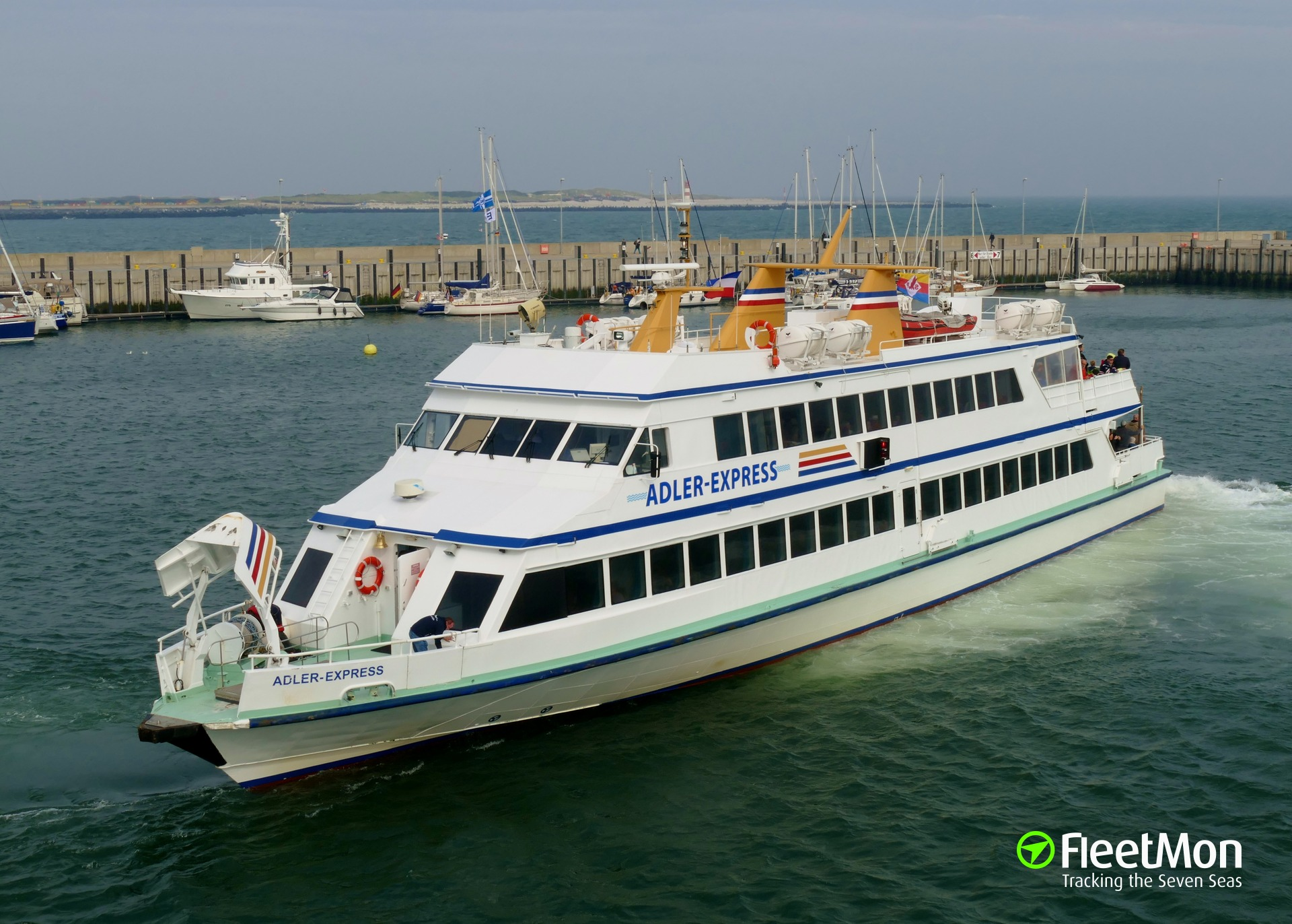 Ferry ADLER EXPRESS hits quay in Germany, 27 people injured