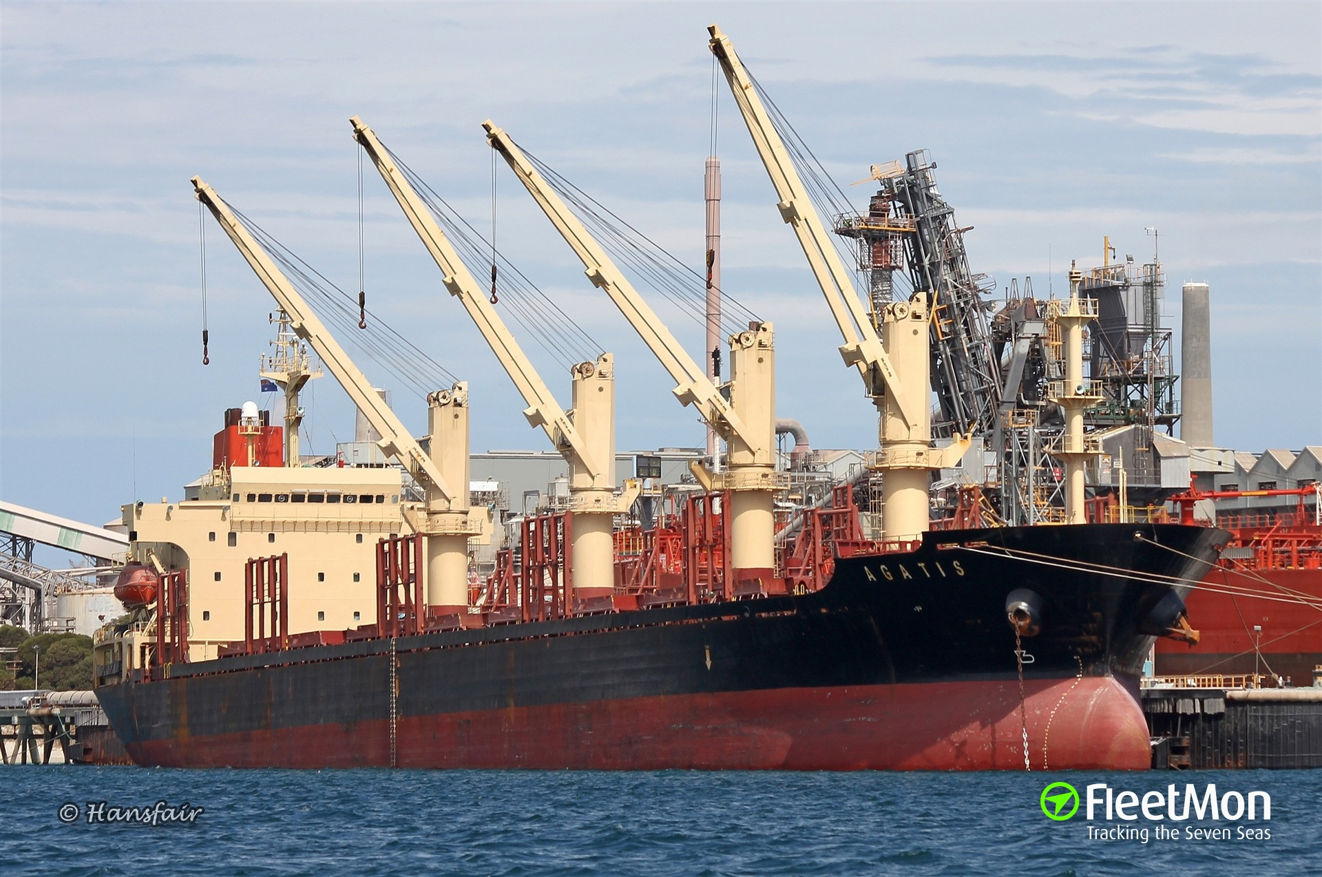 Bulk carrier AGATIS stranded in Barranquilla, refusing to leave Colombia until paid