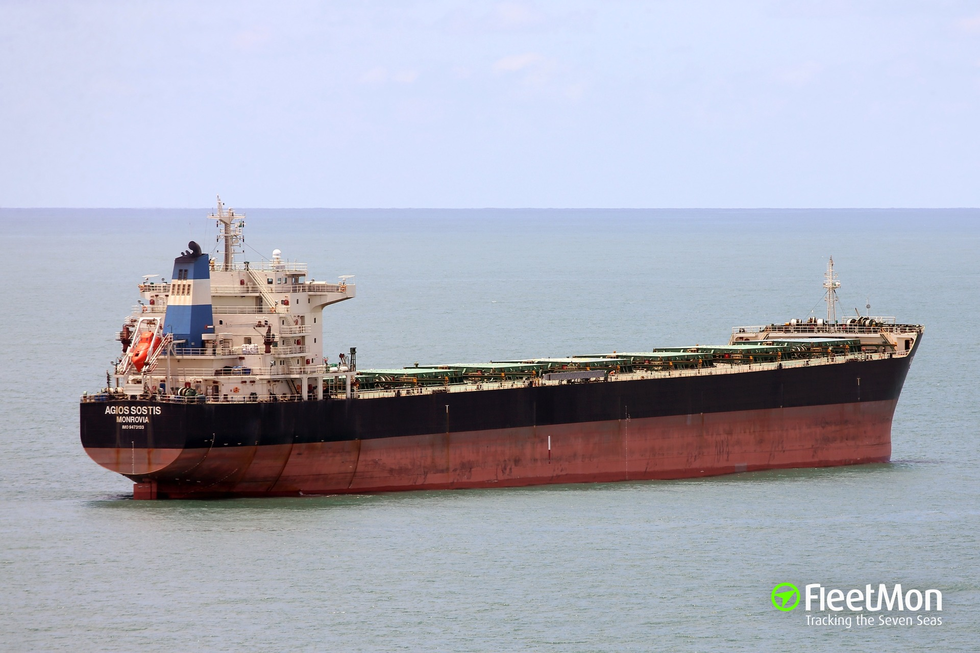 Bulk carrier AGIOS SOSTIS grounding, Parana river