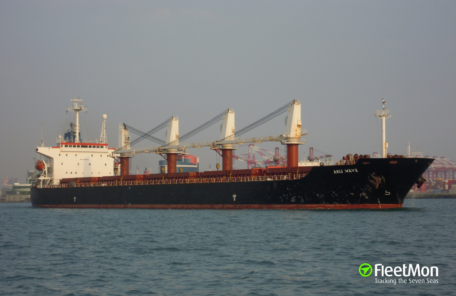 Bulk carrier Akij Wave cleared for entrance after the death of officer caused by malaria