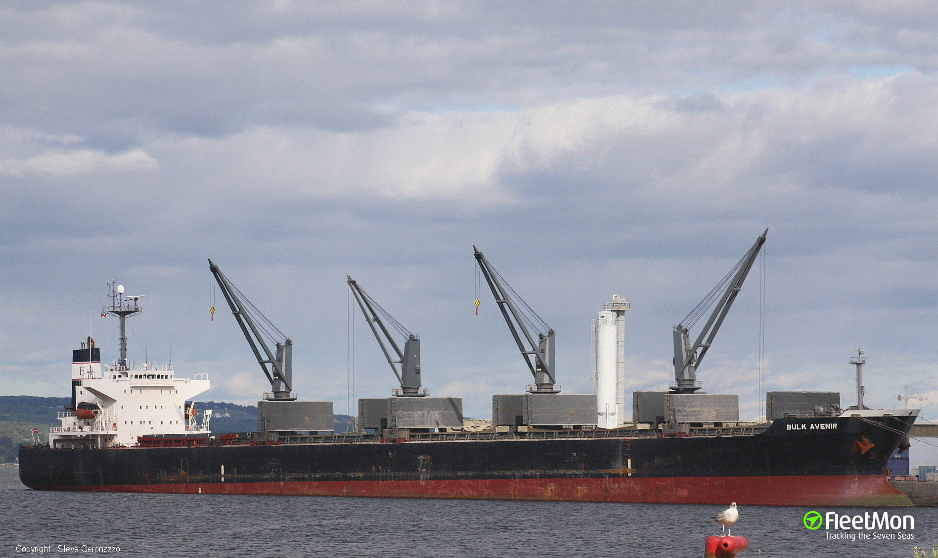 Bulk carrier ALEX A broke optic cable obeying Traffic Control commands