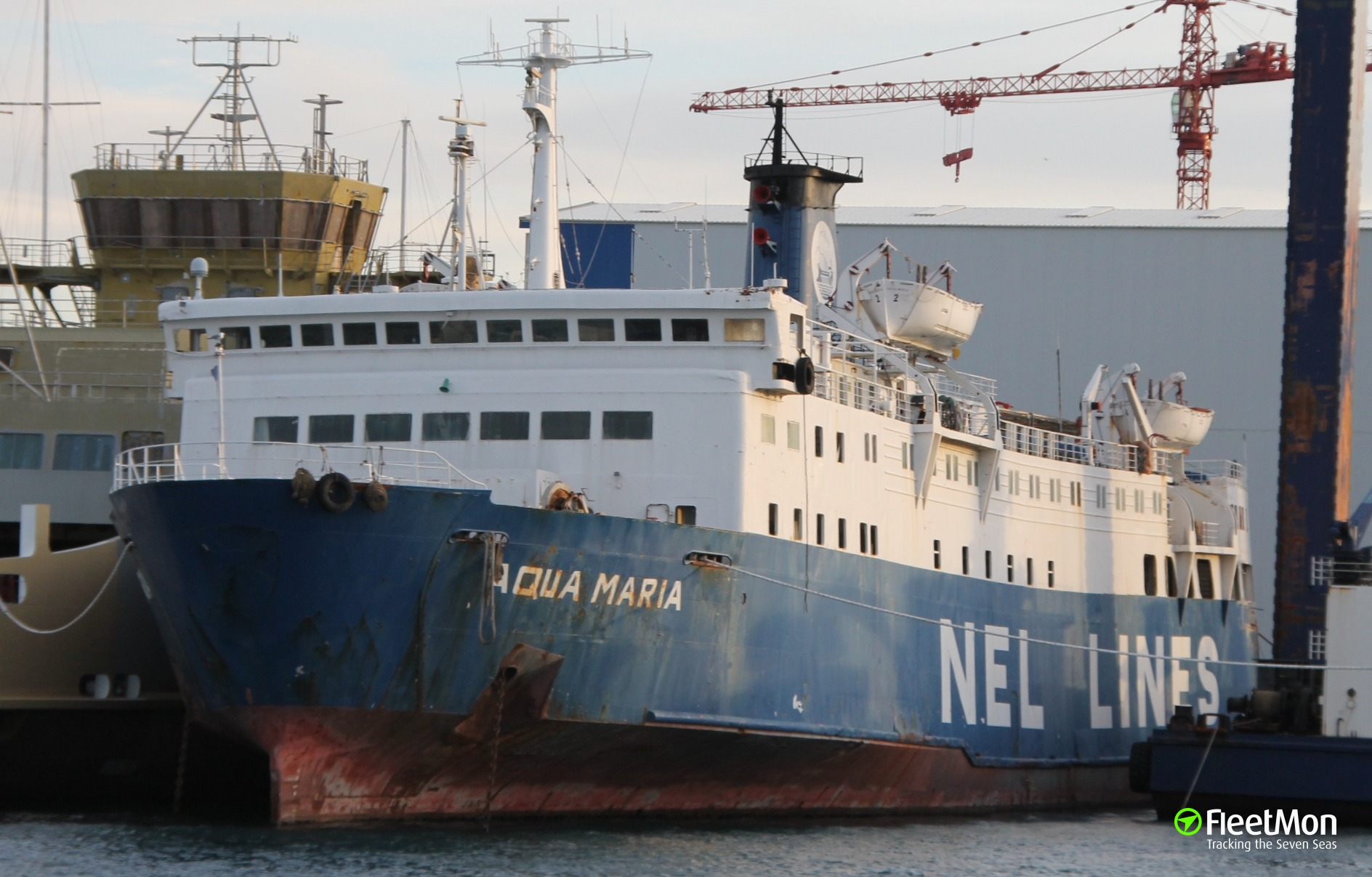 Ferry MIRTIDIOTISSA disabled, under tow, Greece
