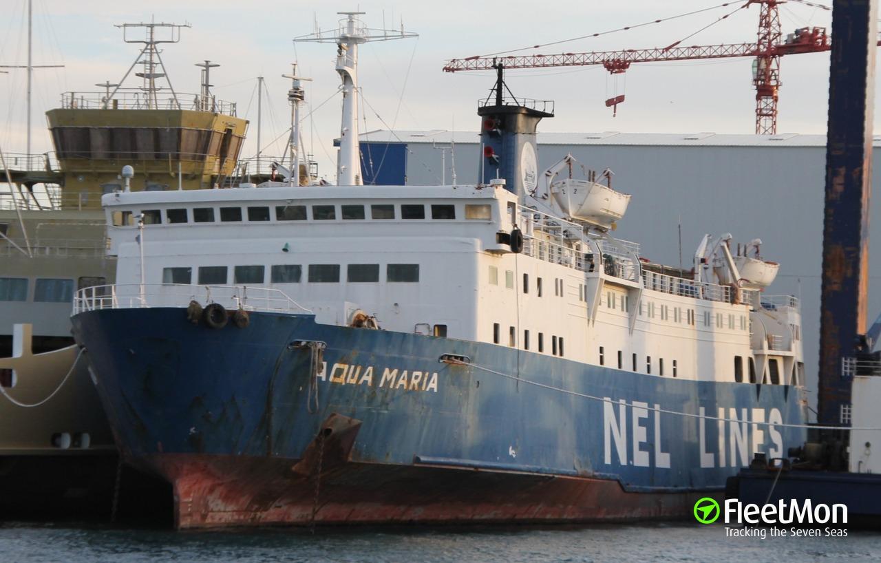 Vessel ALEXANDRA L (Passenger ship) IMO 7419626, MMSI 237029600