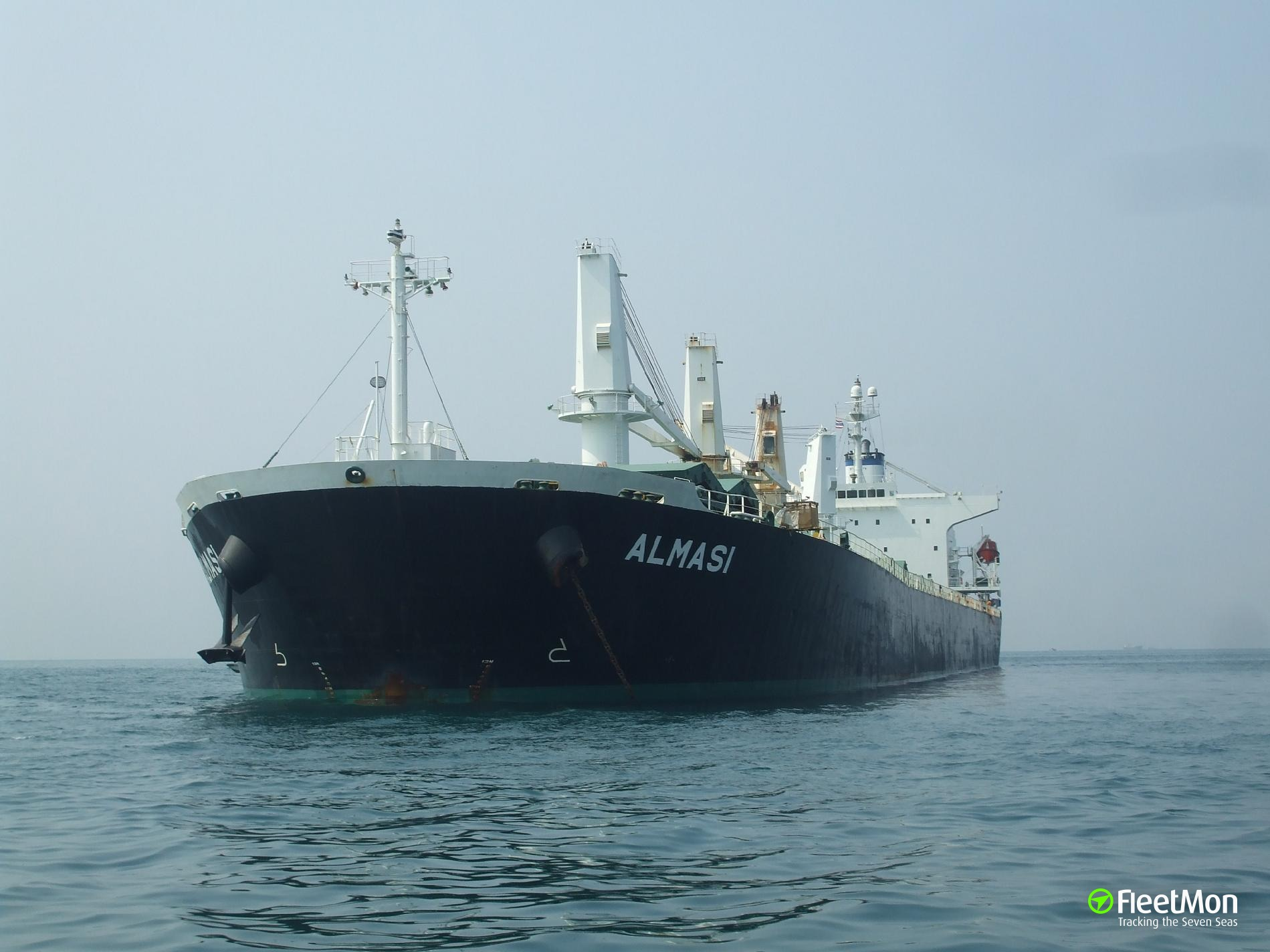 Three crewmen with burns medevaced from bulk carrier Almasi, Pacific