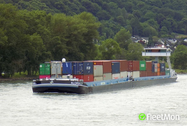 Container Ship collided with Palmrain Bridge