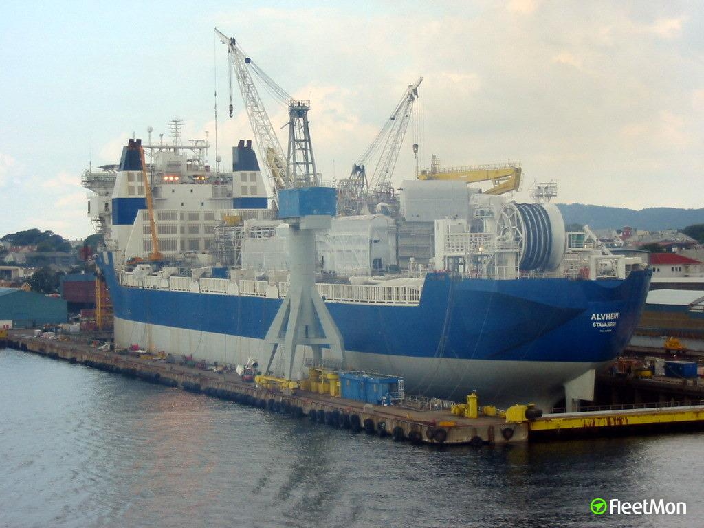 FPSO ALVHEIM gas leak, North sea
