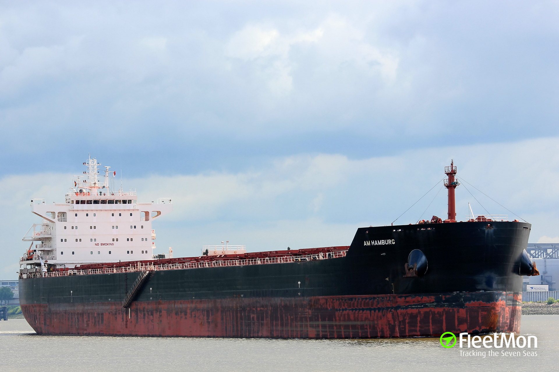 Bulk carrier AM Hamburg grounding, Terneuzen