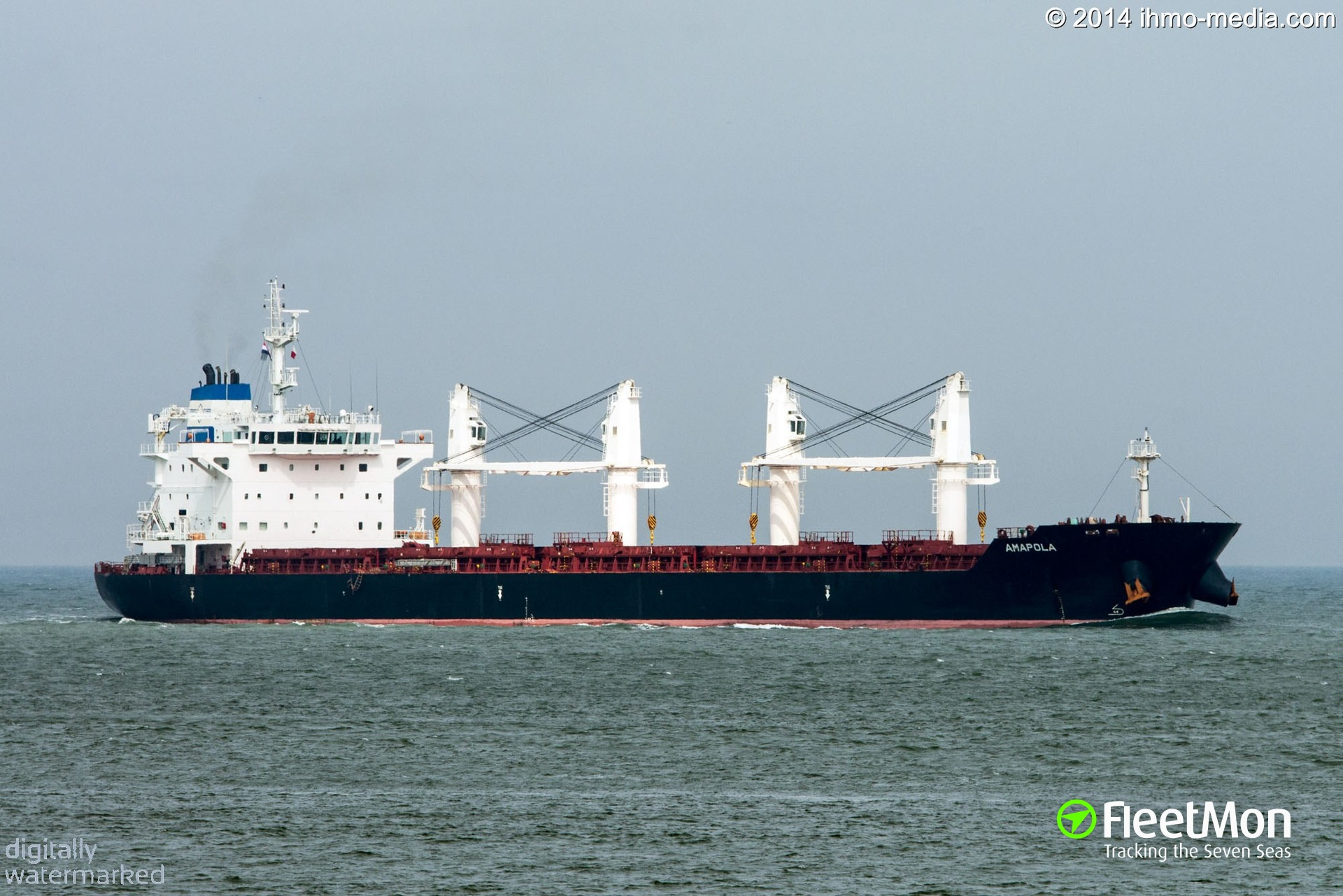 Bulk carrier AMAPOLA two crew dead