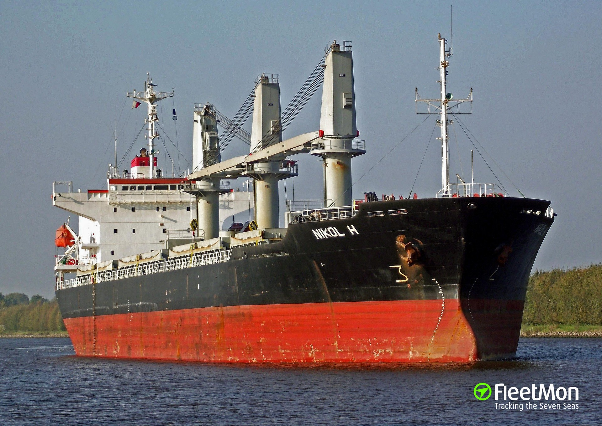 Freighter Nikol H stuck in Philadelphia since April, 20 crew locked on board
