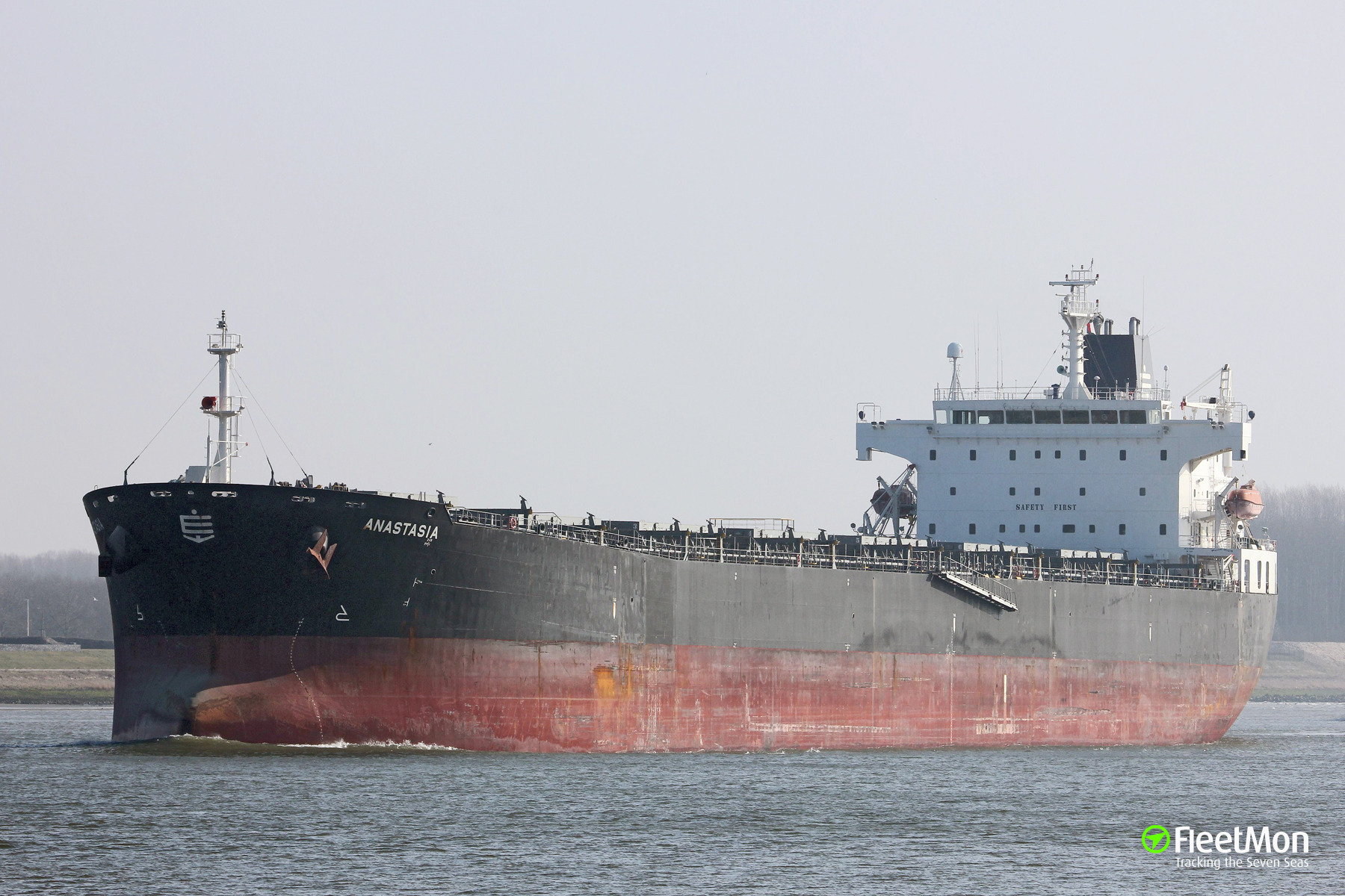 Bulk carrier Anastasia allision in Rostock