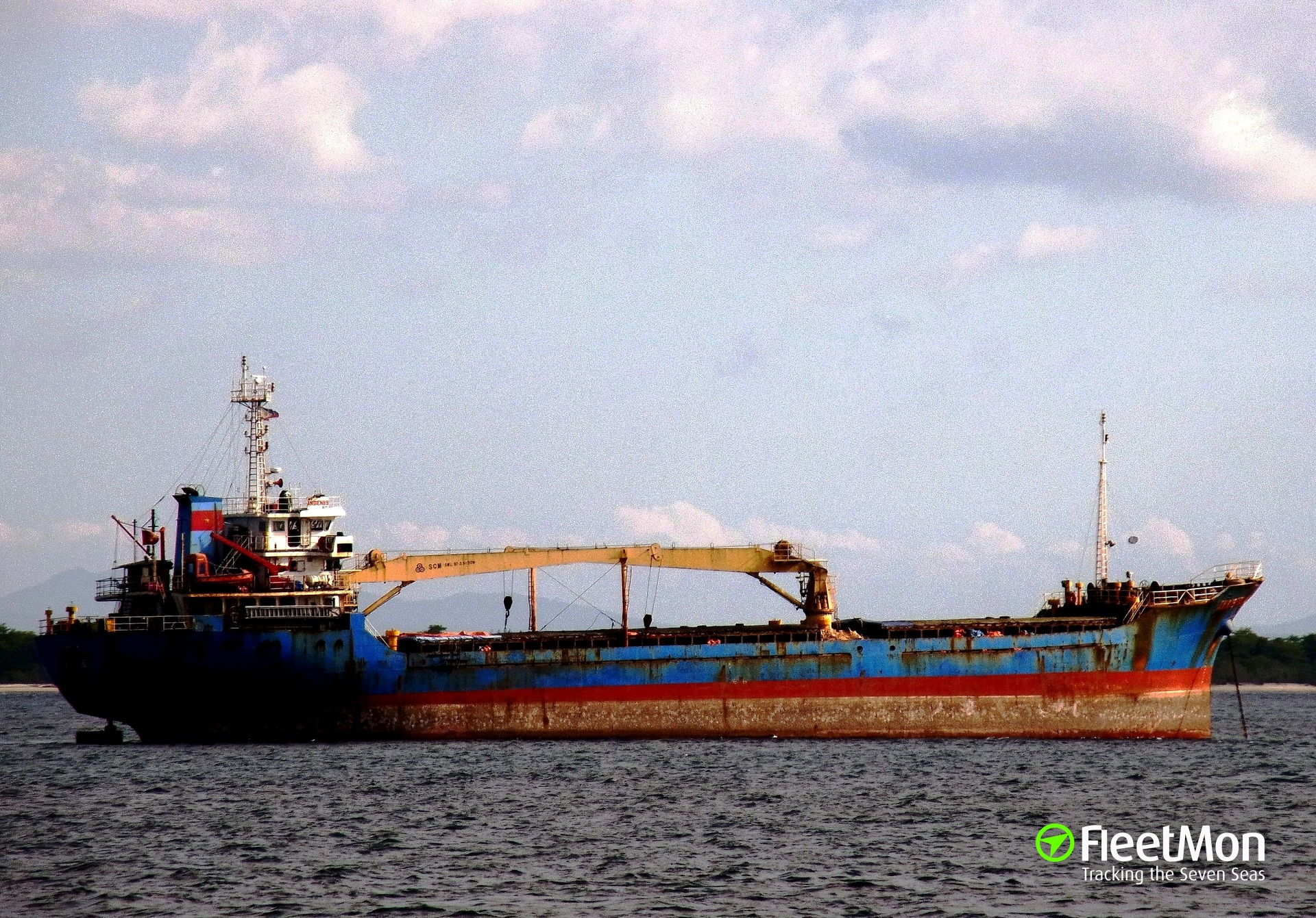 General cargo vessel An Bien 89 Alci arrested for smuggling, Philippine