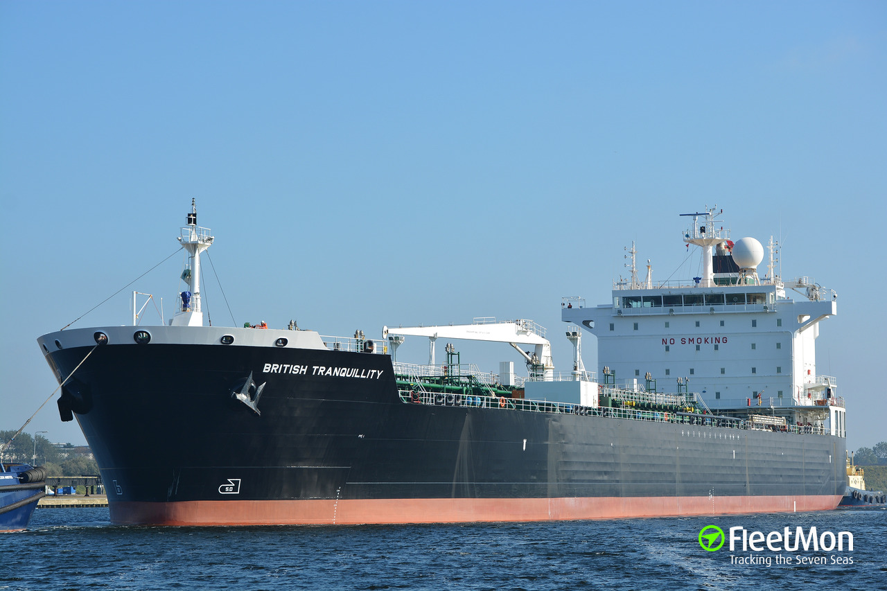 Vessel ANDREA VICTORY (Oil Products Tanker) IMO 9288849
