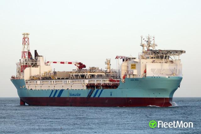 Vessel AOKA MIZU (Floating storage) IMO 9190028, MMSI 306811000