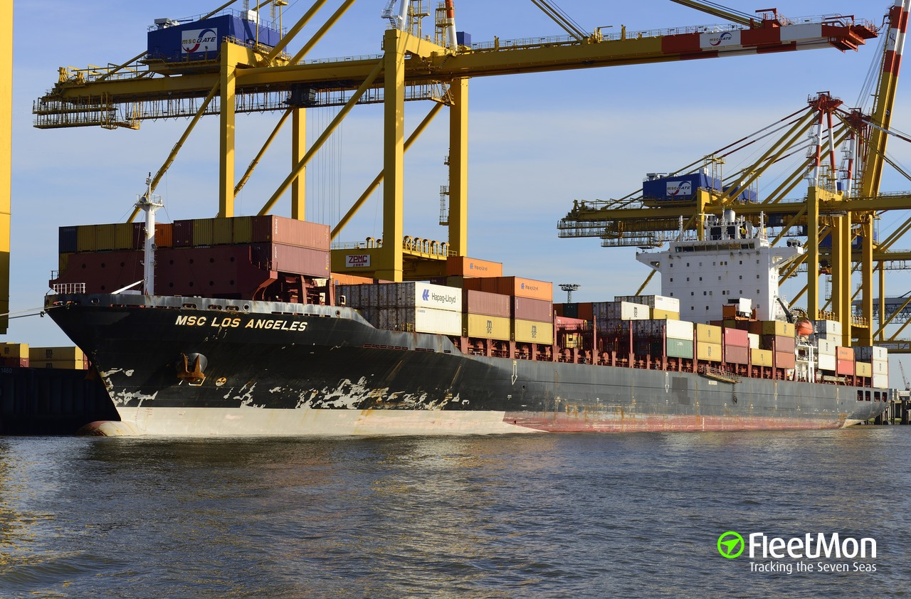 APL LOS ANGELES (Container ship) IMO 9345958