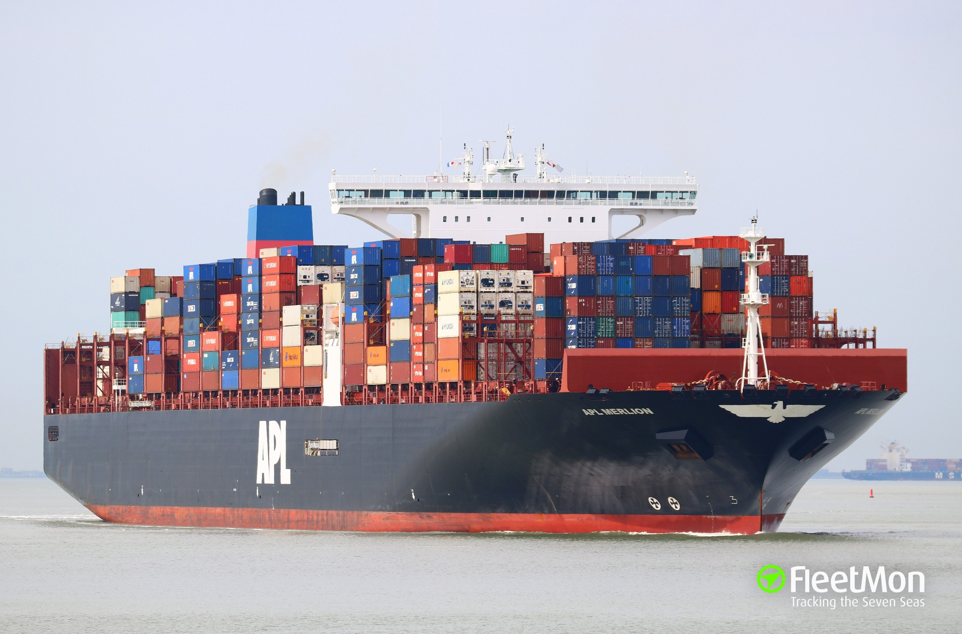 Brand-new APL MERLION first in Hamburg