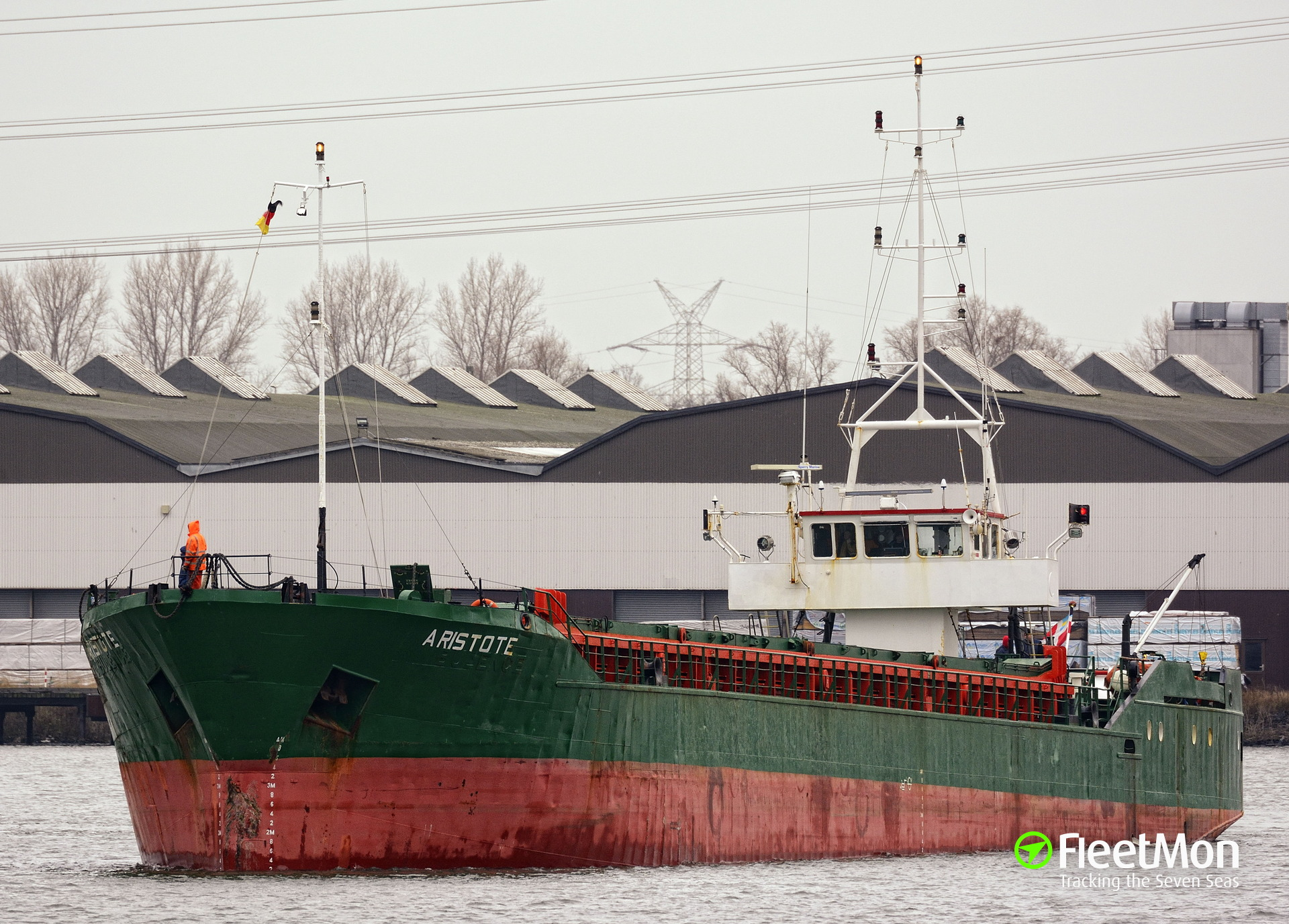 General cargo vessel Aristote suffered engine failure in English Channel