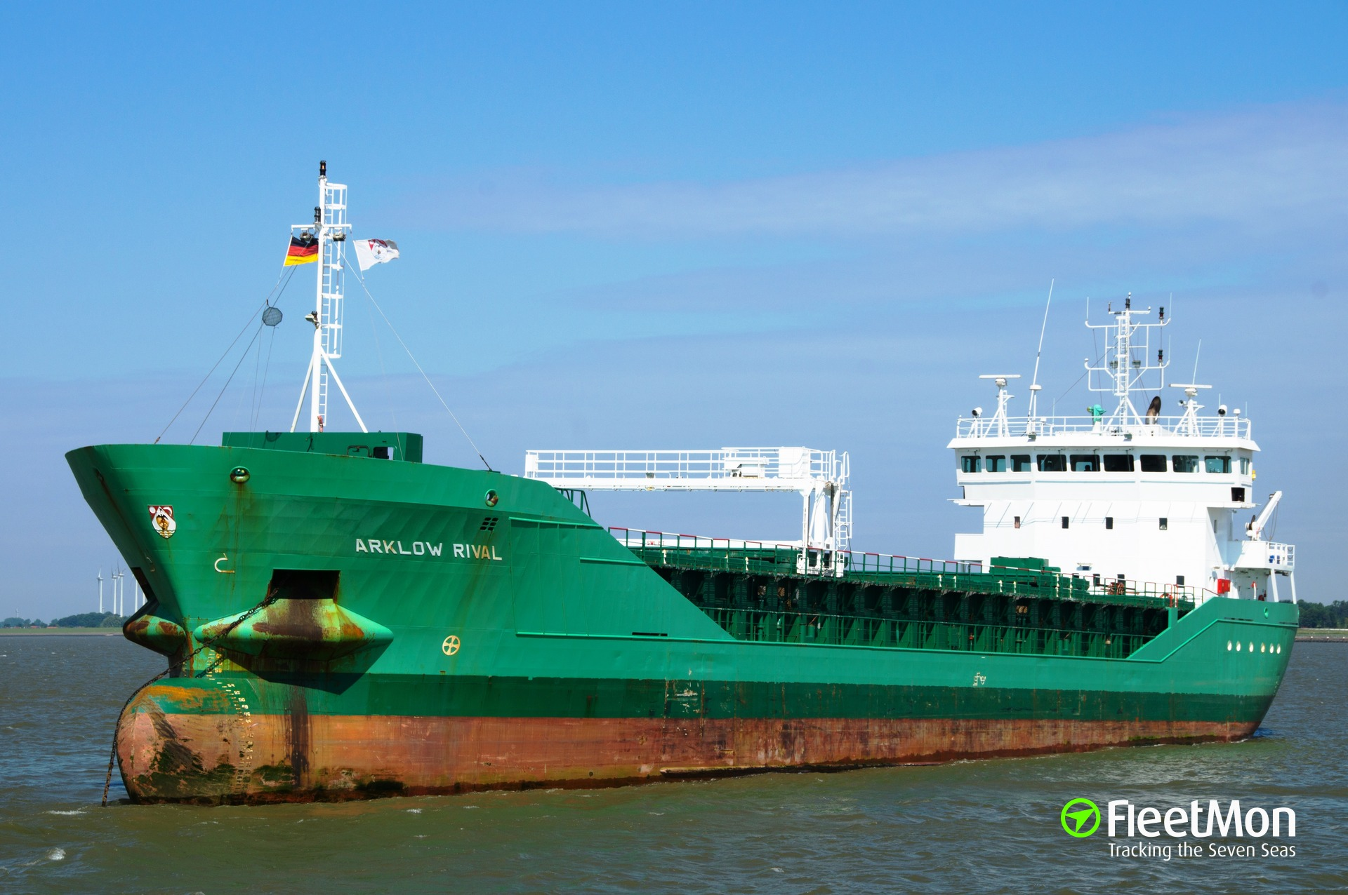 Irish cargo ship disabled in English Channel, avoid French salvage