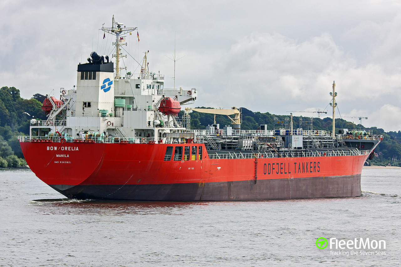 As Orelia Oil Tanker Imo 9363821