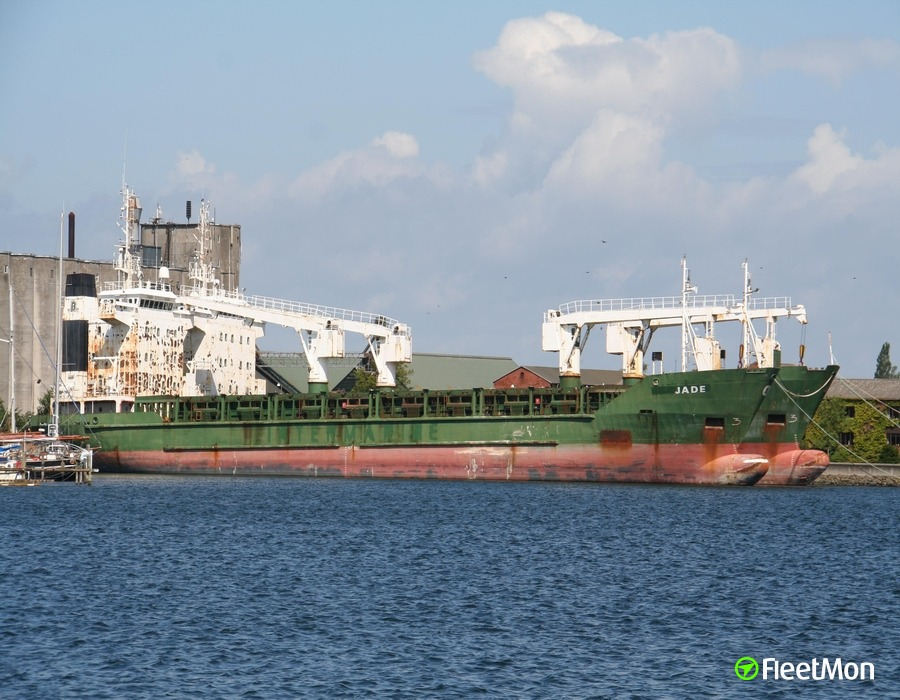 General cargo vessel Nawal-F aground