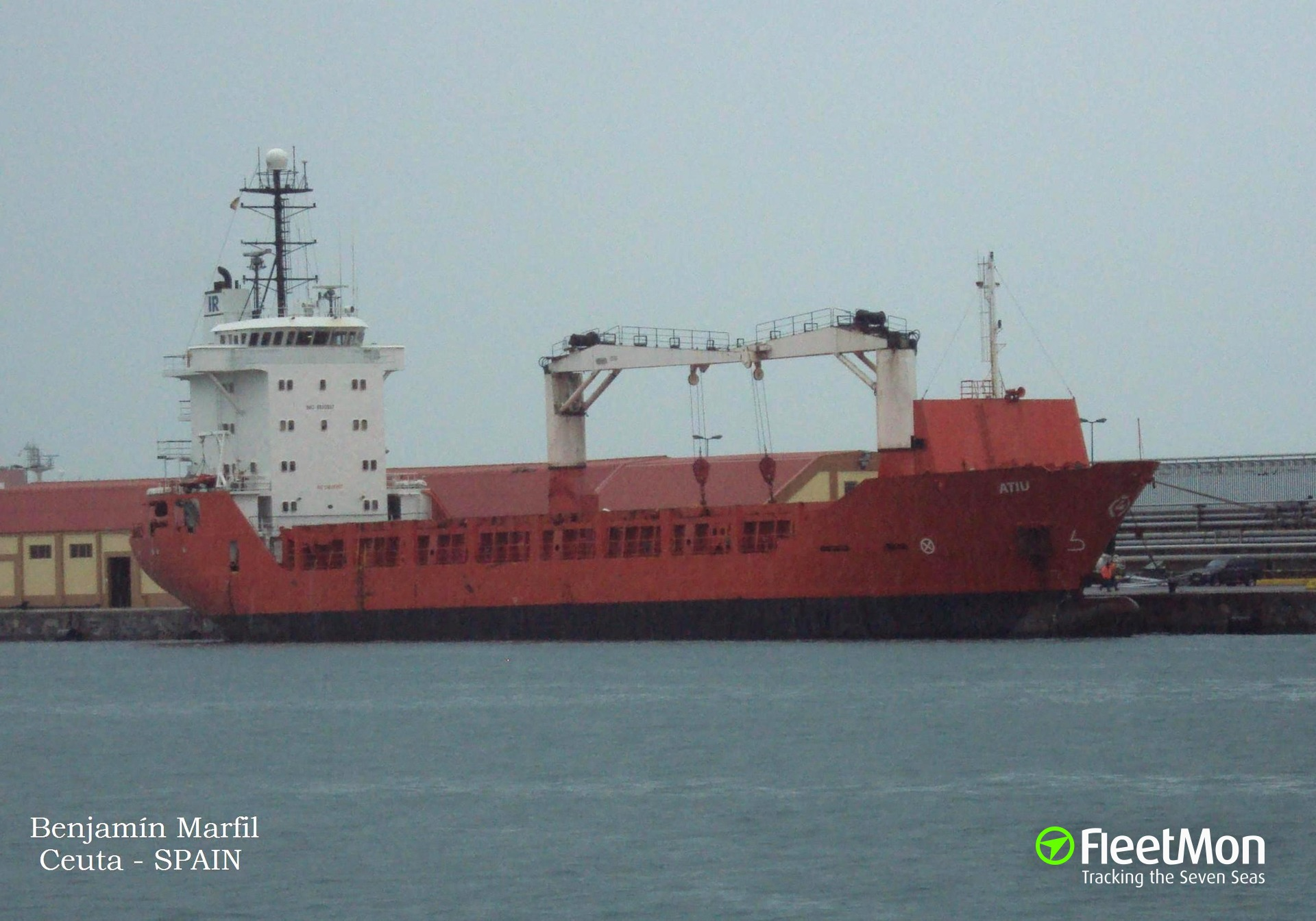 General cargo vessel KATERINA to be auctioned by Cadiz Port
