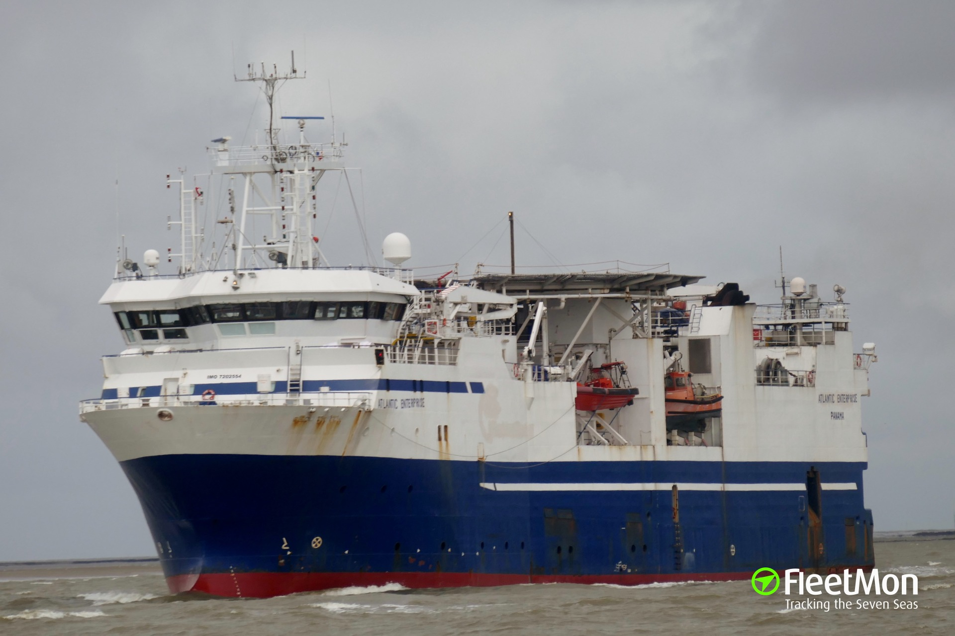 Research vessel ATLANTIC ENTERPRISE