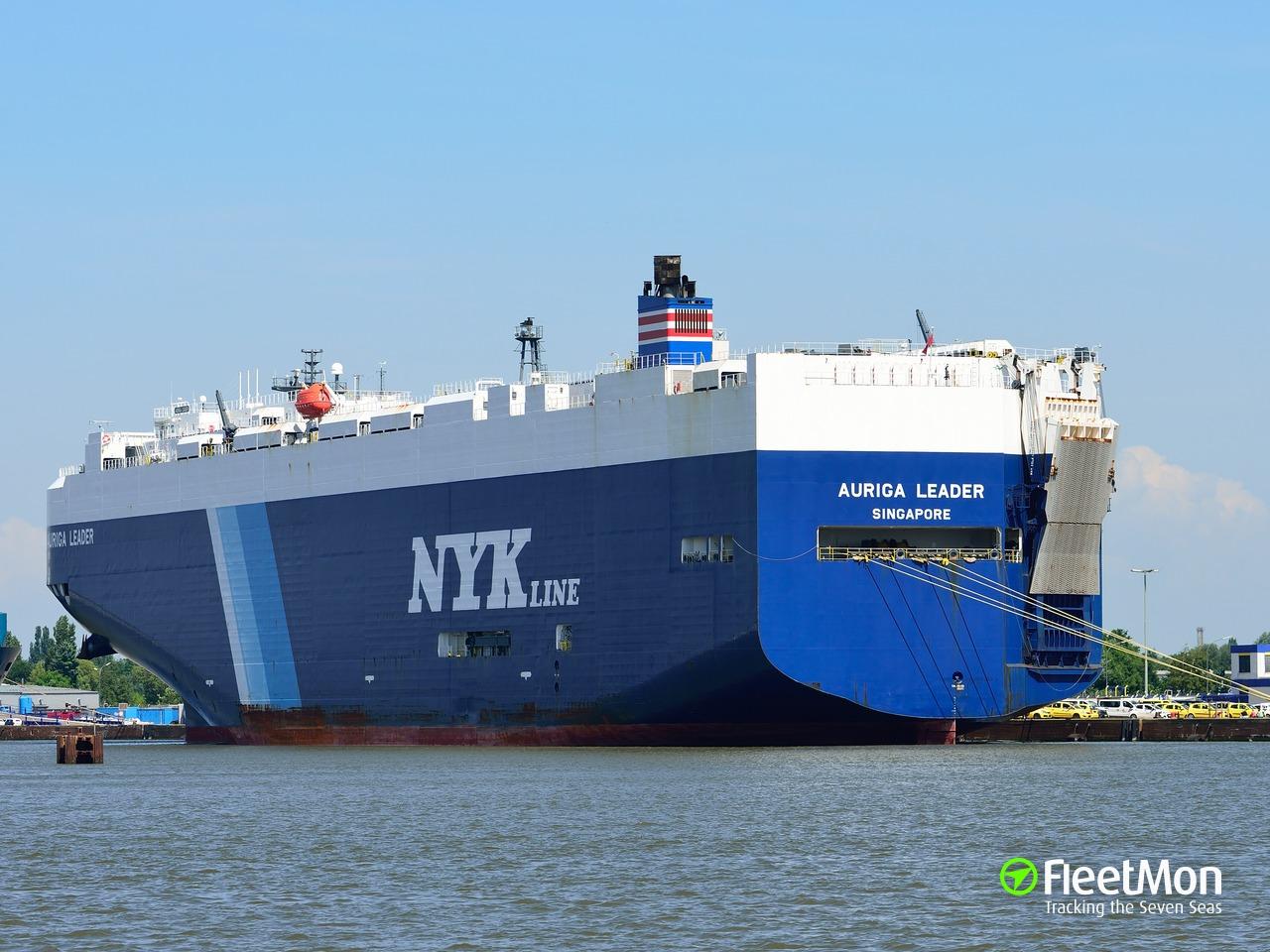 Vessel AURIGA LEADER (Vehicle carrier) IMO 9402718, MMSI