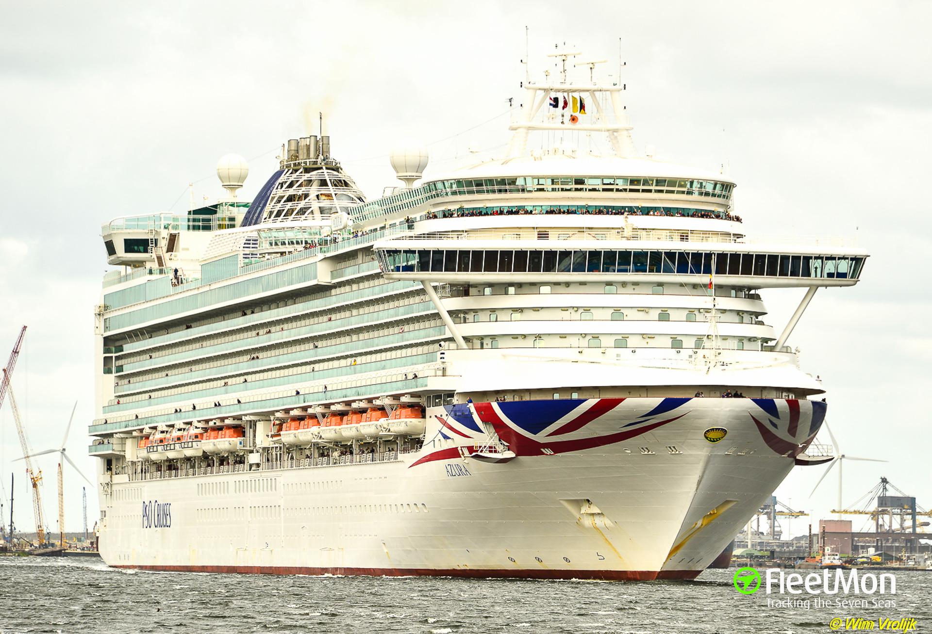 "How Captain of cruise ship AZURA ""poisoned"" Marseilles"