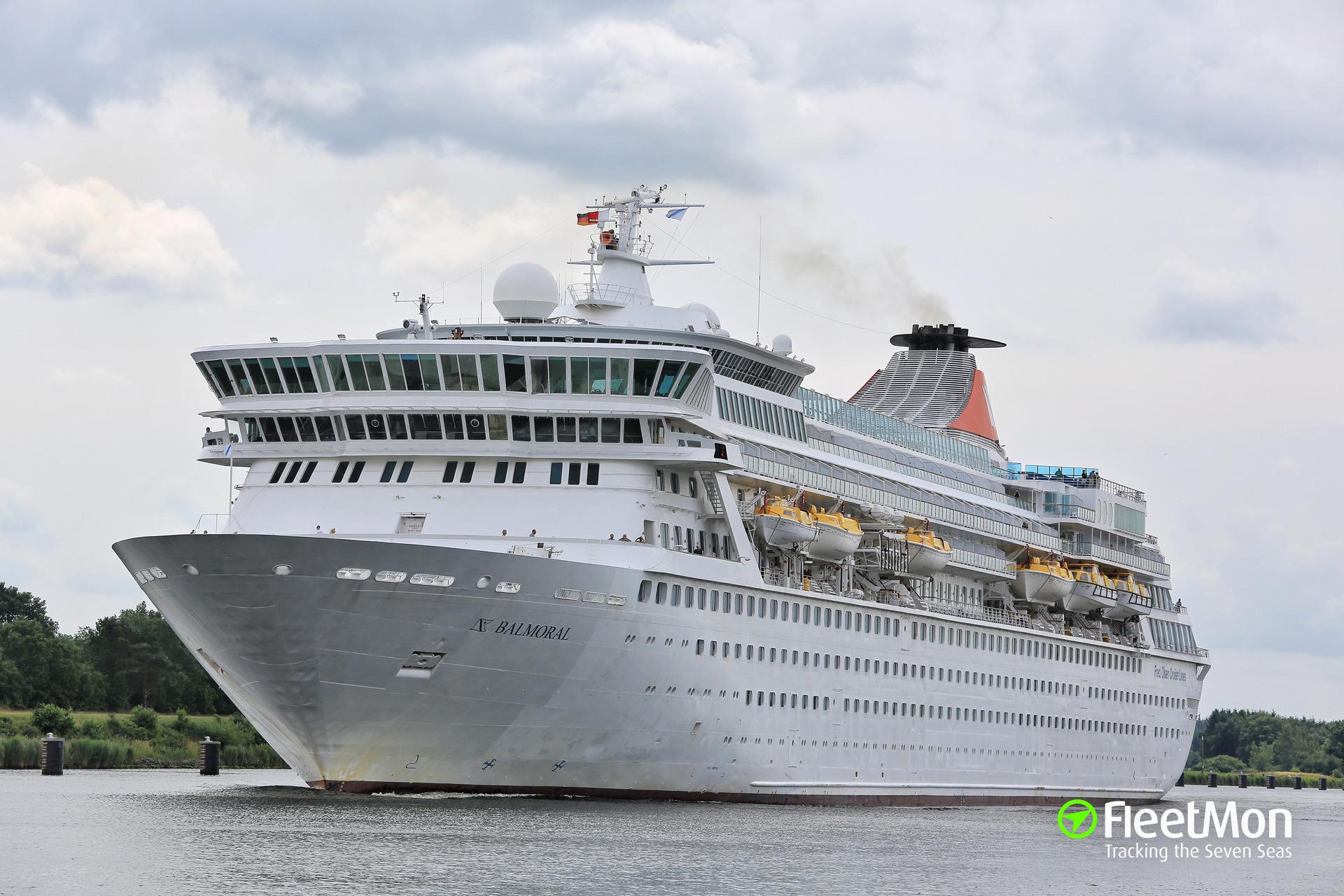 BALMORAL Cruise Liner IMO - Balmoral cruise ship schedule