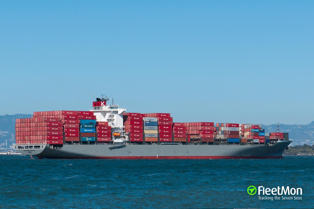 BALTIMORE BRIDGE (Container ship) IMO 9463281